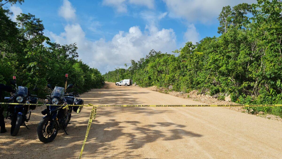 Balacera mañanera deja un ejecutado y un herido en el fraccionamiento Kusamil de Cancún