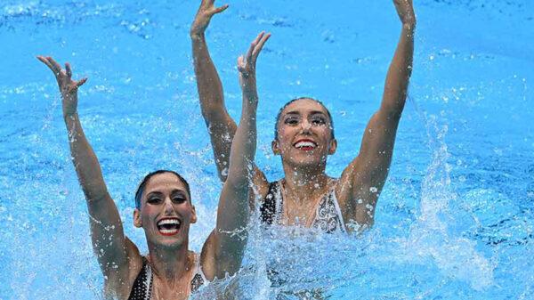 Nuria Diosdado y Joana Jiménez calificaron con su rutina libre a la final