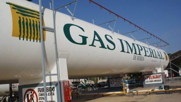 Gas Imperial omite ajustar sus precios establecidos por la Federación para el gas LP