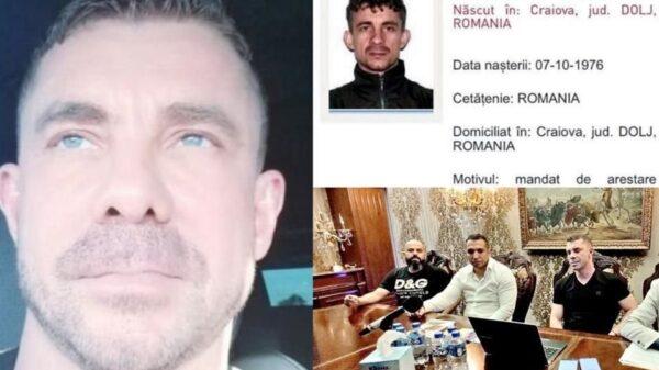 Formalizan extradición de Florian Tudor, presunto mafioso rumano.