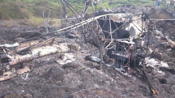 Un lesionado tras desplome de una avioneta en Jalisco