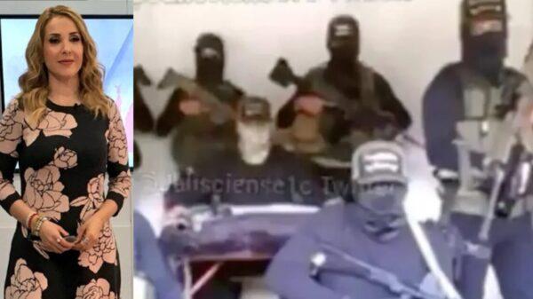 Azucena Uresti es amenazada por el CJNG por cobertura en Michoacán