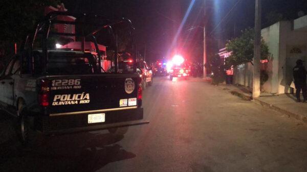 Cancún: Rafaguean casa en la SM 95 y lesionan a cuatro personas