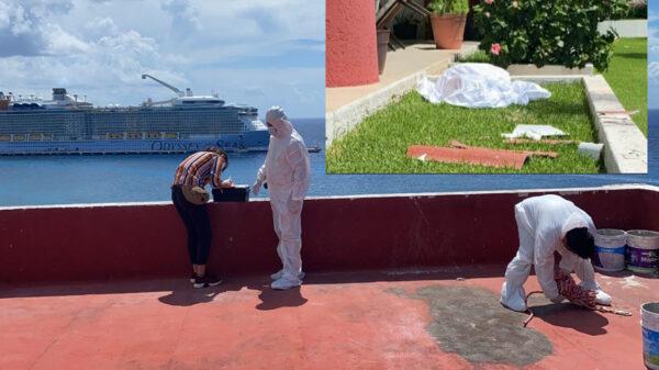 Muere trabajador al caer de un octavo piso en Cozumel