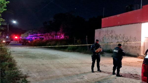 Cancún: Ejecutan de un balazo a hombre en la SM 225
