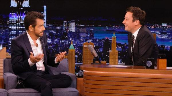 Eugenio Derbez confiesa con Jimmy Fallon que no toman en serio su carrera
