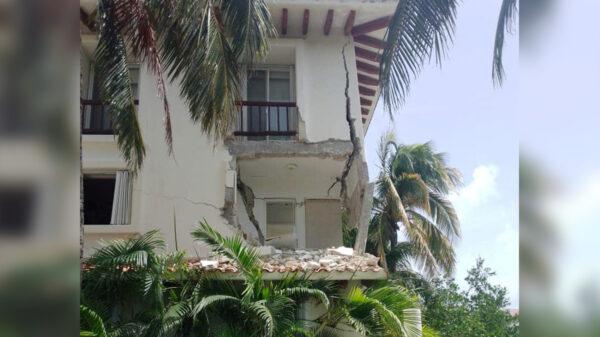 Cancún: Explosión demuele departamento en exclusiva zona residencial