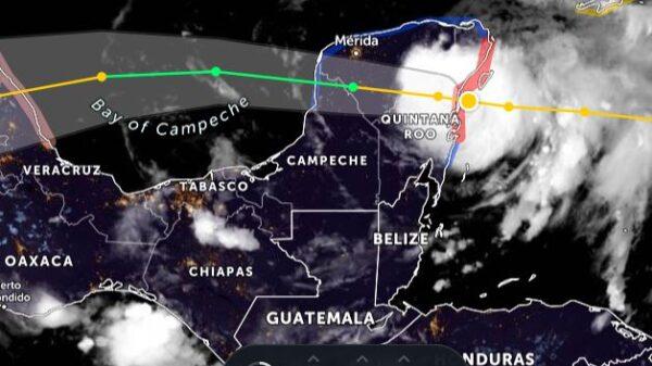 Impacta Huracán Grace en Tulum