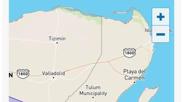 Grace continúa se perfila a Yucatán