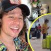 Luisito Comunica llega al Aeropuerto de Cancún y... ¡No había luz!