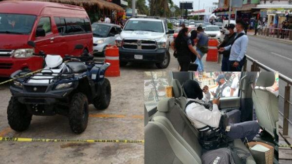 Cancún:Por error, policia balea a turista en la zona hotelera