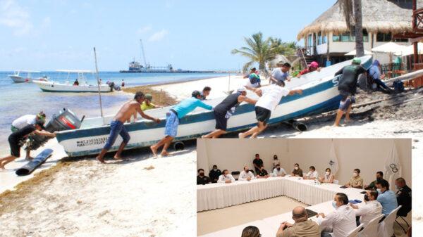 """Puerto Morelos se prepara ante la posible afectación de la Tormenta Tropical """"Grace"""""""