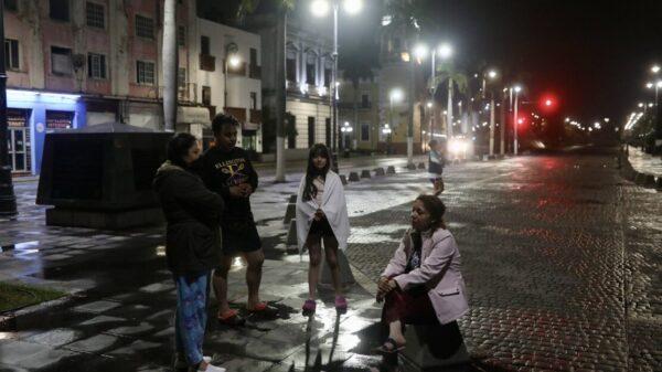 Sismo de 4.9 se percibe en 23 municipios de Veracruz Fotos: FÉLIX MÁRQUEZ.