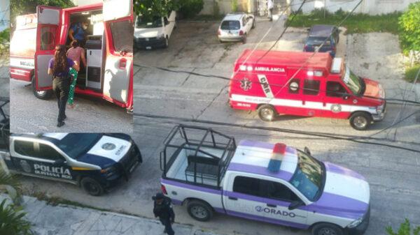 Cancún: Policías salvan a una joven de saltar de un edificio