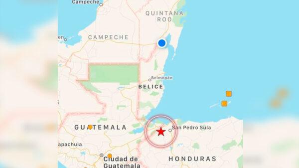 Alarma en Quintana Roo sismo de 5.4 grados con epicentro en Honduras