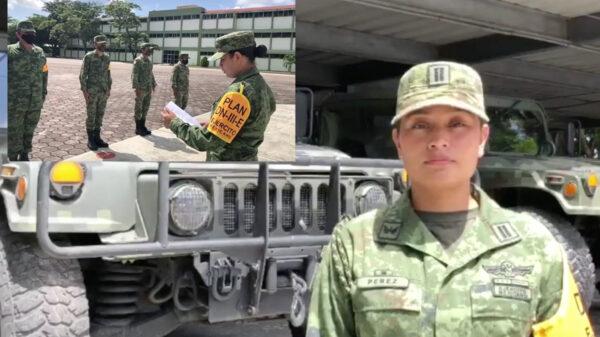Mujeres en el Ejército Mexicano, Teniente Itzel Pérez ejemplo de equidad y superación