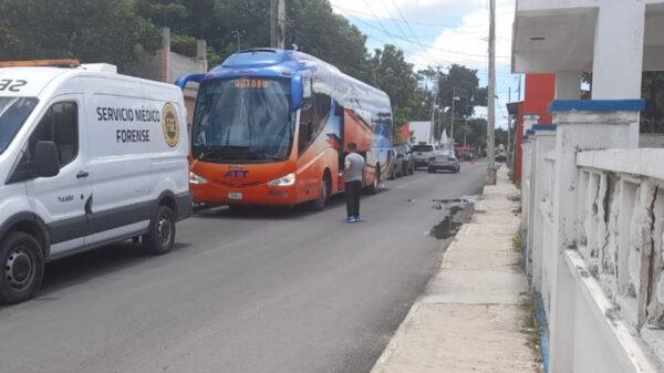 Turista muere en el autobús cuando se dirigía a Sisal