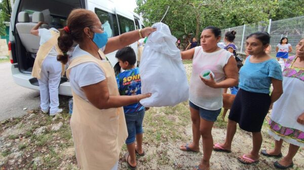 Reactiva sus actividades el Voluntariado del IMSS en comunidades rurales