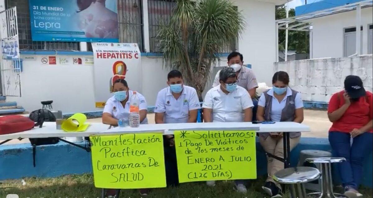 Mujeres mayas las más afectadas por paro de labores en Caravanas de Salud.