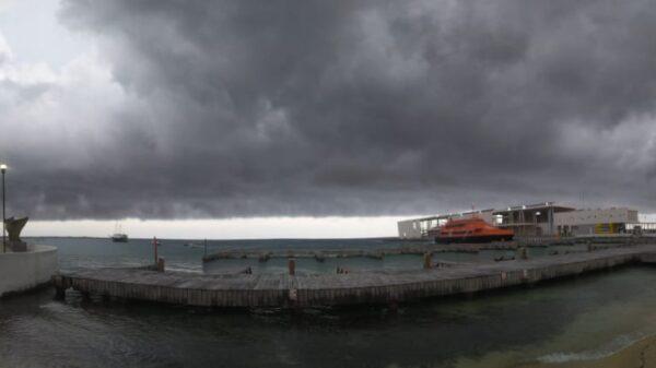 #Grace   Listos en Cozumel para hacer frente al posible huracán.
