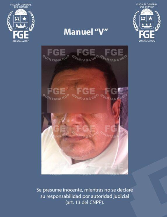 """Taxista de Cancún drogaba y violaba a sus pasajeras; detiene la Fiscalía a Manuel """"V"""", quien está relacionado en tres carpetas de investigación."""