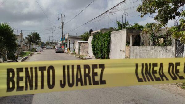 Cancún: Hallan cadáver enmaletado en la Supermanzana 75 (VIDEO).