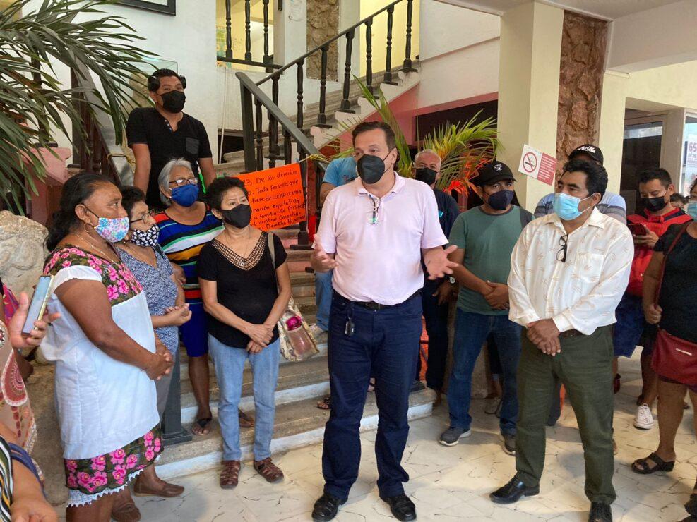 Luis Alegre pide al gobierno de José Esquivel cumplir con su pago a trabajadores.