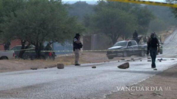 ¡Imparable la violencia en Zacatecas! Asesinan a cuatro personas más