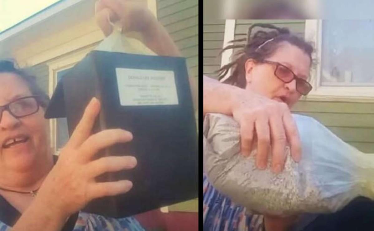 El video de una mujer que tira las cenizas de su esposo al bote de basura se viraliza, pues la razón de esta acción tiene su origen en la violencia