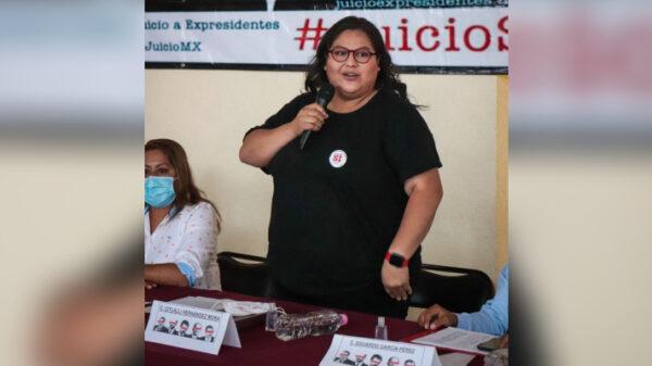 Amonesta Ieqroo a Citlali Hernández por incumplir medida cautelar.