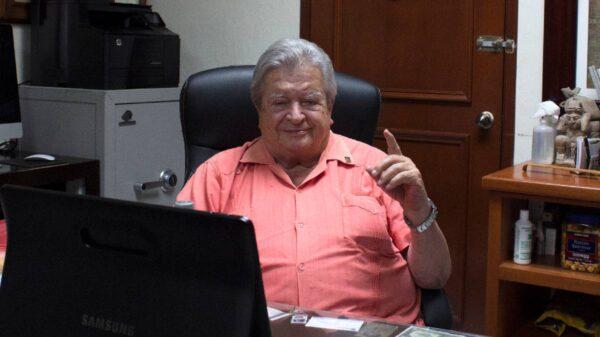 Don Gastón Alegre López cumple 88 años de edad
