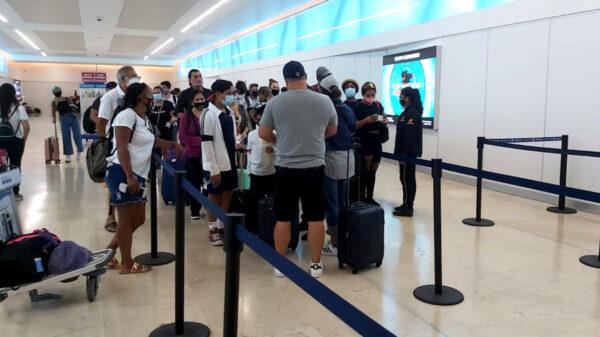 Hubo 130 cancelaciones de vuelos en Aeropuerto de Cancún por Grace