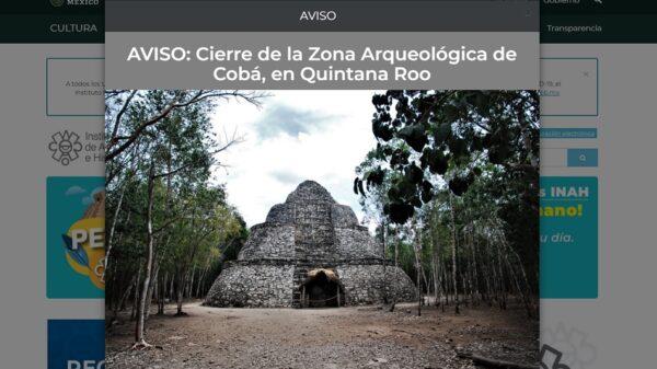 Sigue conflicto por cierre de la zona arqueológica de Cobá.