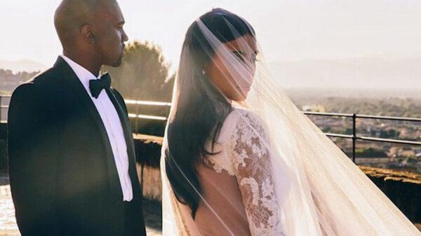 Kanye West y Kim Kardashiam se vuelven a casar ¿Y el divorcio?
