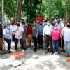 Gobierno de Puerto Morelos mejora la imagen del parque Punta Corcho