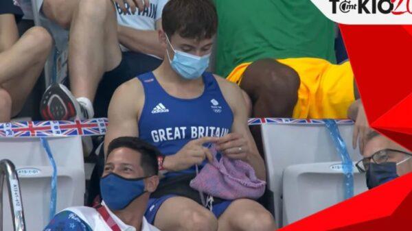 El medallista de oro en los Juegos Olímpicos, Ton Daley, se ha propuesto disfrutar su estancia en Tokio y lo hace de una manera inusual