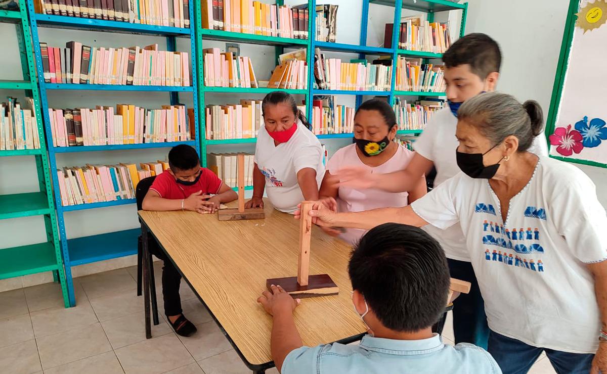 """Gobierno de Puerto Morelos lleva """"vacaciones e la biblioteca 2021"""" a Leona Vicario"""