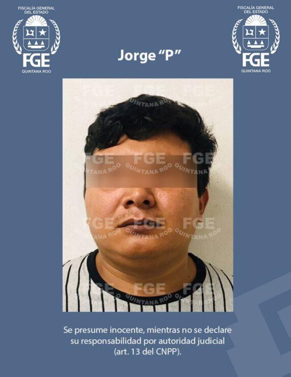 """Vinculan a proceso al 'Bóxer' por triple homicidio en Tulum; Jorge """"P"""" permanecerá en prisión preventiva oficiosa durante el proceso penal."""