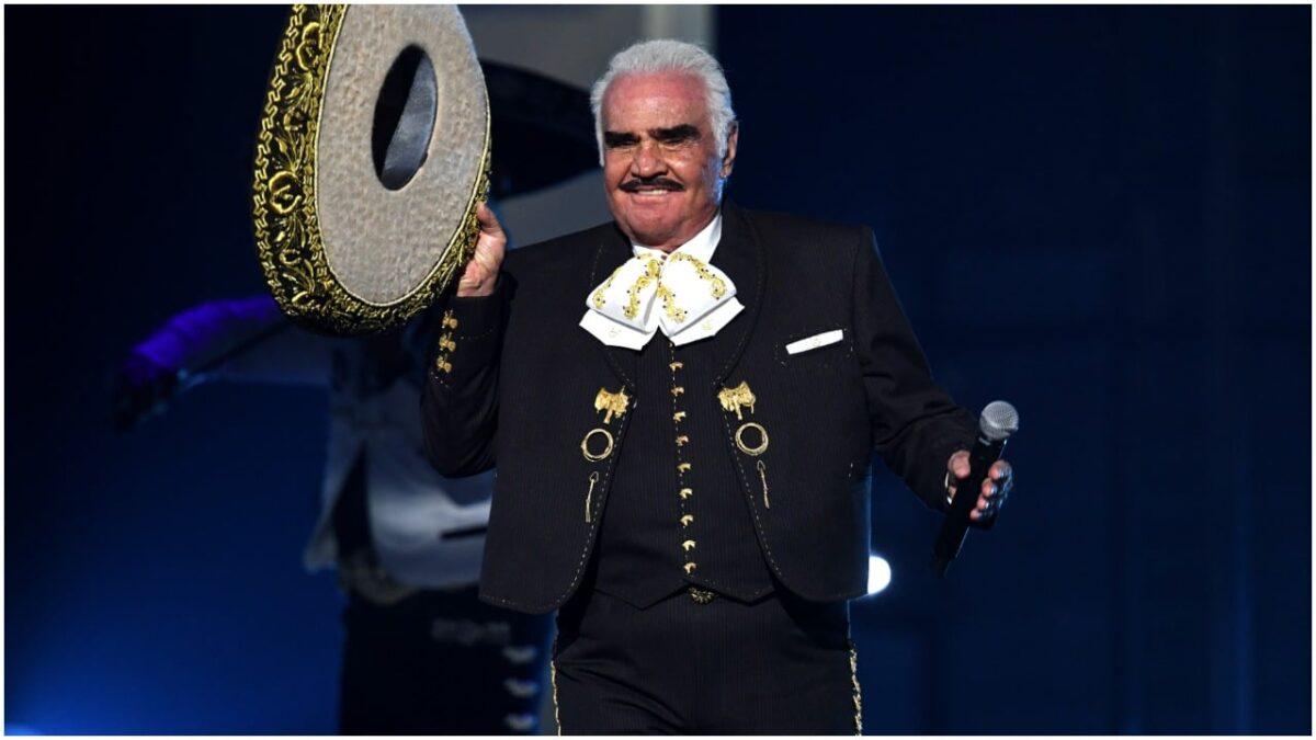 Vicente Fernández pidió una canción especial para su funeral
