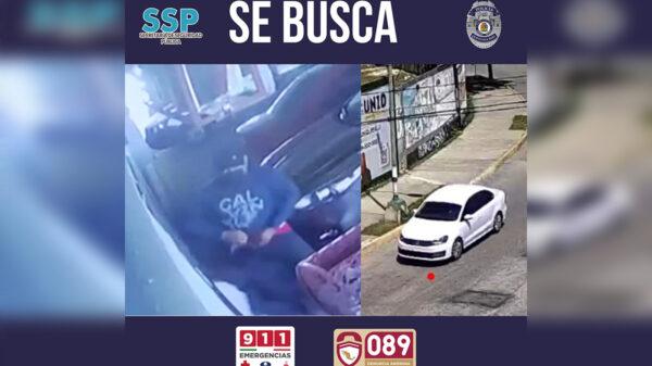 Alerta SSP Quintana Roo sobre presuntos asaltantes