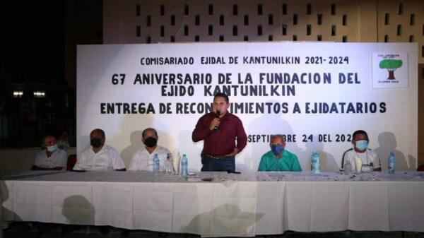 Celebran 67 aniversario de la fundación de Kantunilkín