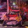 Aparatoso choque deja 12 lesionados en Querétaro