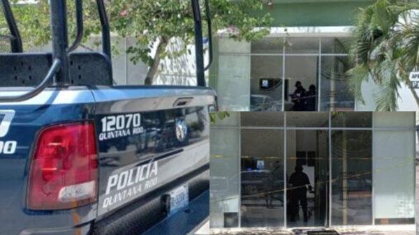 Comando armado obtiene cuantioso botín en asalto en Tulum