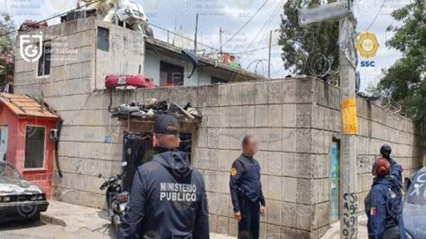 Decomisan más de 15 toneladas de autopartes; hay cuatro detenidos