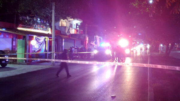 Cancún: Balean bar en la SM 228, un muerto y un herido el saldo