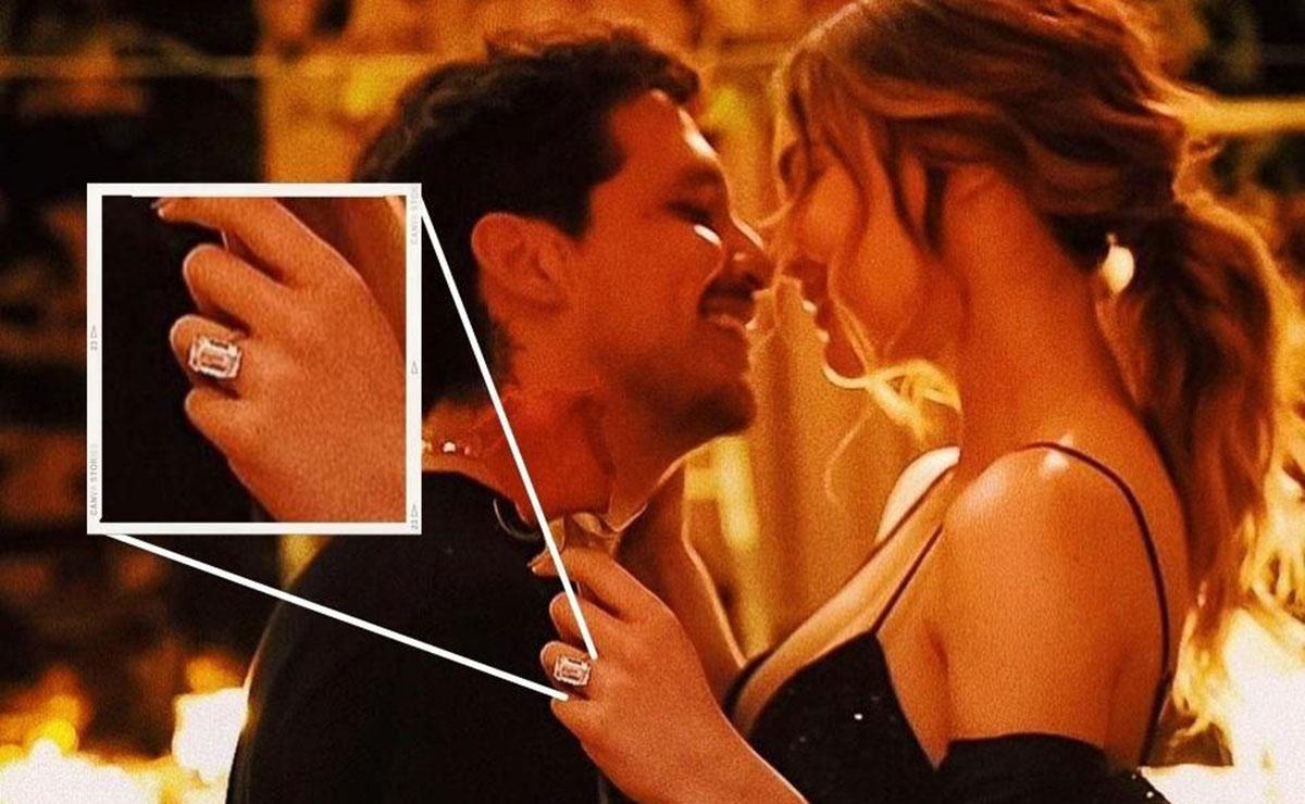 Belinda reaparece con su anillo de compromiso, tras rumores de truene con Christian Nodal