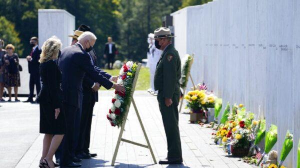 Biden recuerda a las víctimas del 11-S en Pensilvania