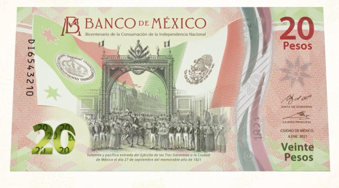 Presentan nuevos billetes de 20 pesos con motivos quintanarroenses