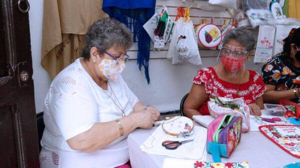 Impartirán cursos 'Bordemos por Mérida' para apoyar a las mujeres de la entidad