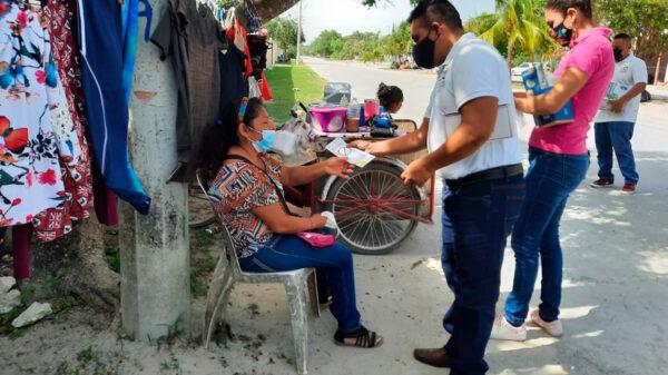 """Atiende gobierno de Puerto Morelos a la población con """"brigadas de servicios"""""""